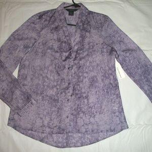 Calvin Klein Jeans Lavender Purple Blouse M